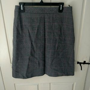 Brooks Brothers Gray Wool Skirt Size 6